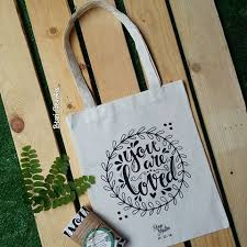 Goodie Bag Bahan Kain Kanvas